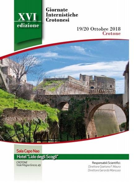 Giornate Internistiche Crotonesi-XVI edizione